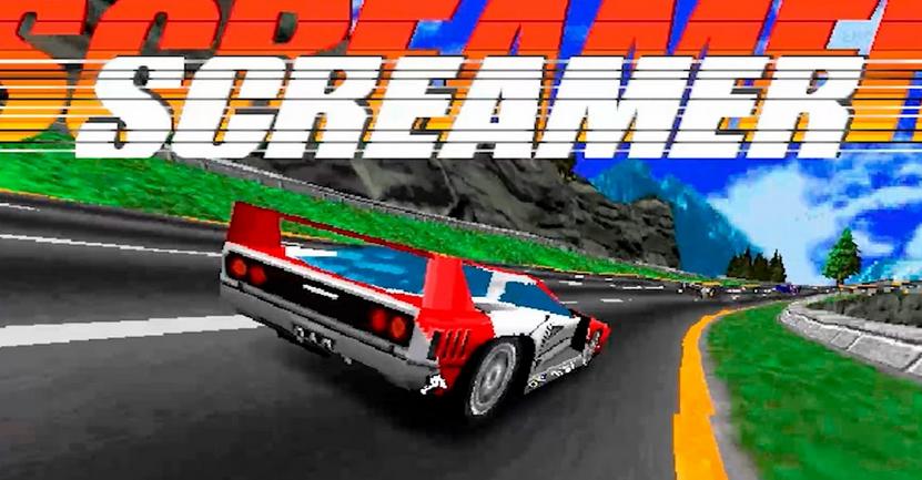 Qui a eu la chance de jouer à Screamer en 1995 ?