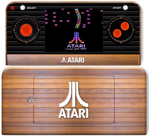L'Atari 2600 portable qui vient vraiment de chez Atari !