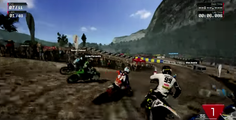 [APERCU] MXGP 3 / Nintendo Switch