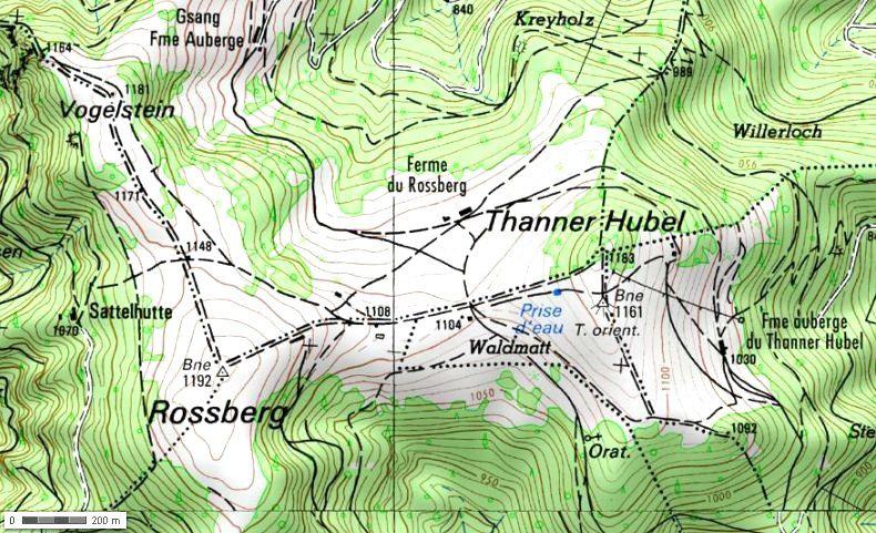 Mercredi 7 mai - Randonnée du col du Hundsruck au col de Rimbach