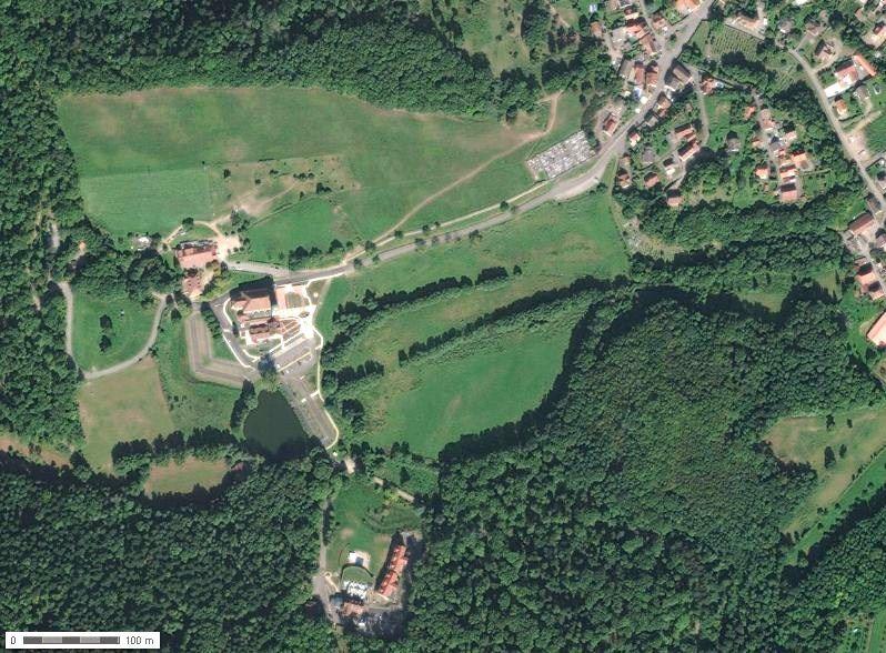 Thierenbach (vue aérienne, Géoportail)