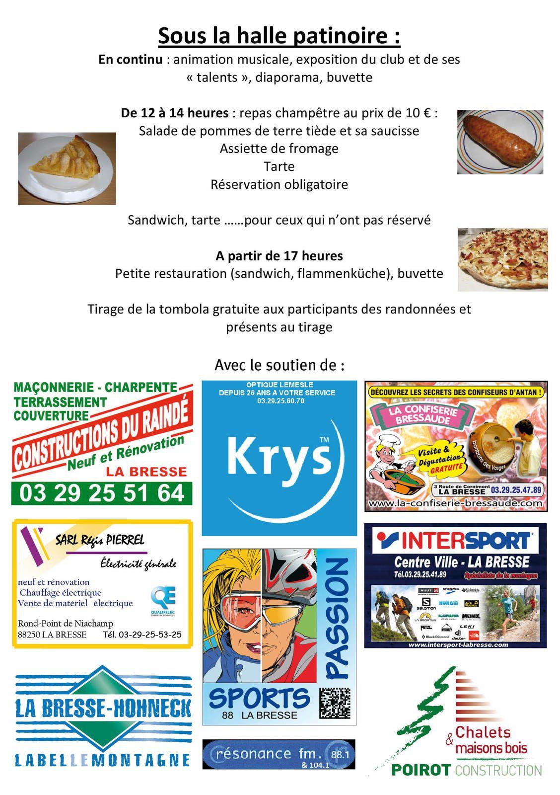 Dimanche 6 juillet - La Bresse, toute la ville marche !