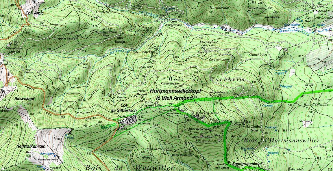 Dimanche 10 août : Le Hartmannswillerkopf, cent ans après