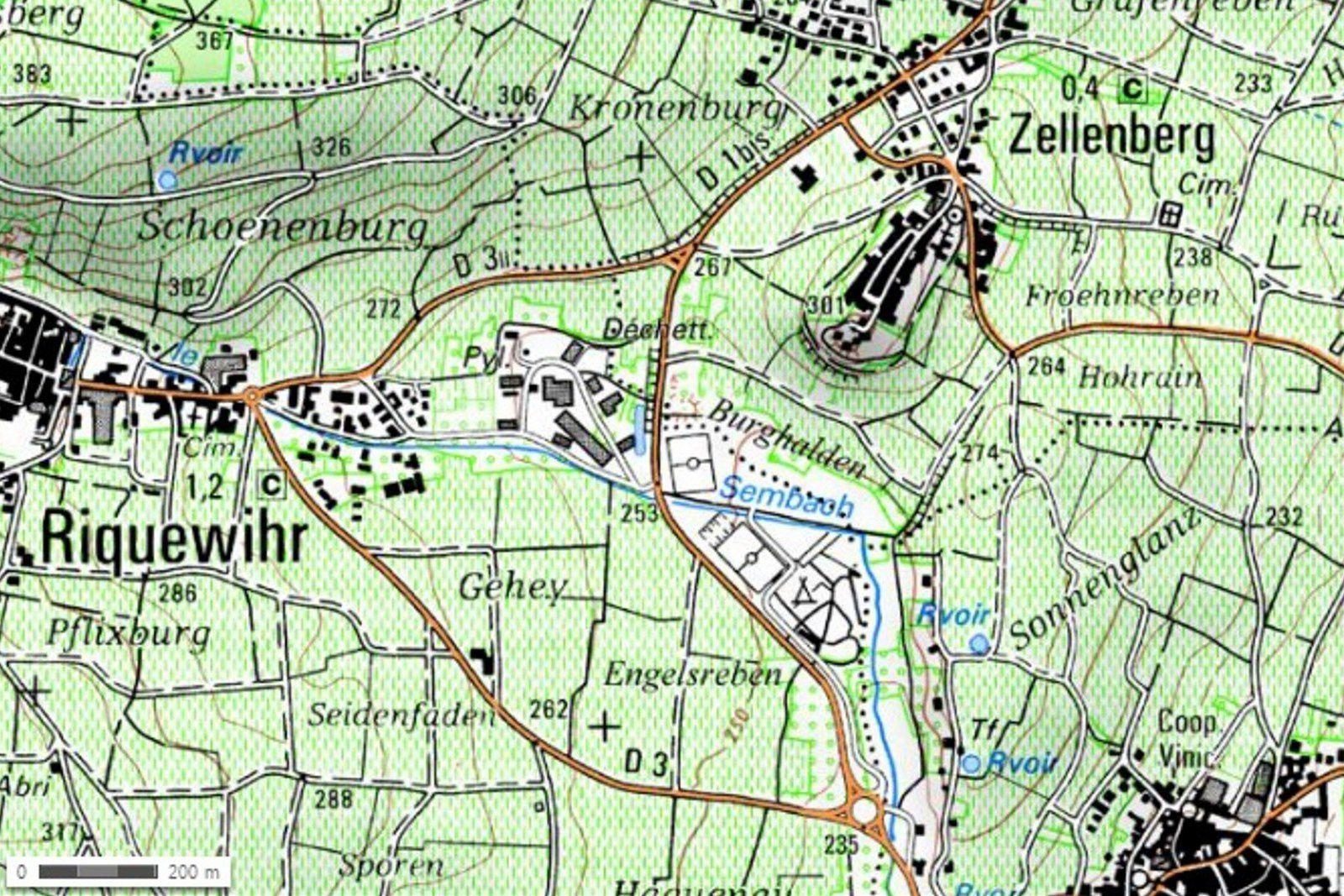 Mercredi 17 décembre - Entre Mittelwihr et Riquewihr, avec les séniors