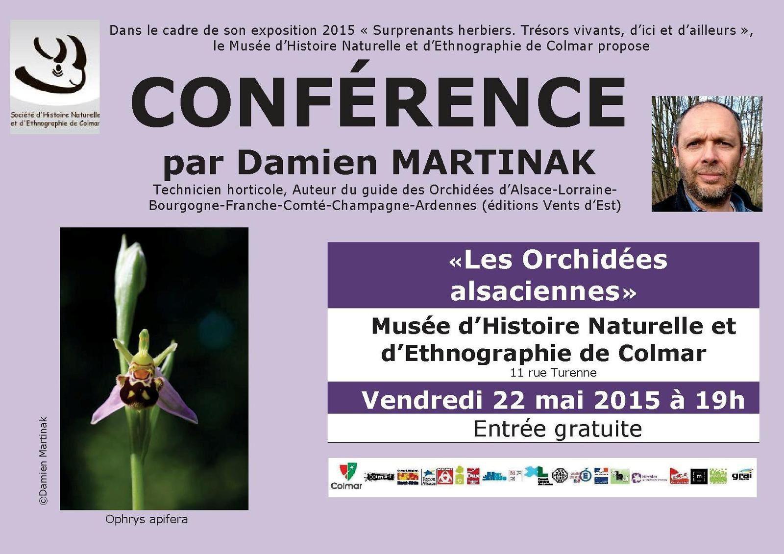 Vendredi 22, dimanche 24 mai - Au Muséum d'Histoire naturelle de Colmar