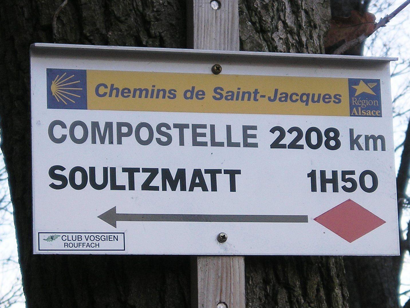 Vendredi 8 avril - Rencontre autour du chemin de Saint-Jacques