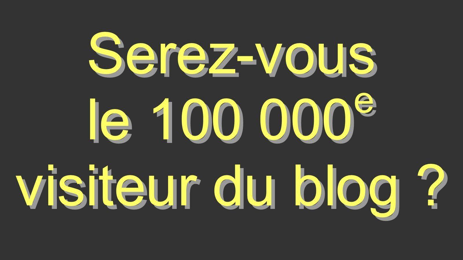 Quiz du 100 000e visiteur !