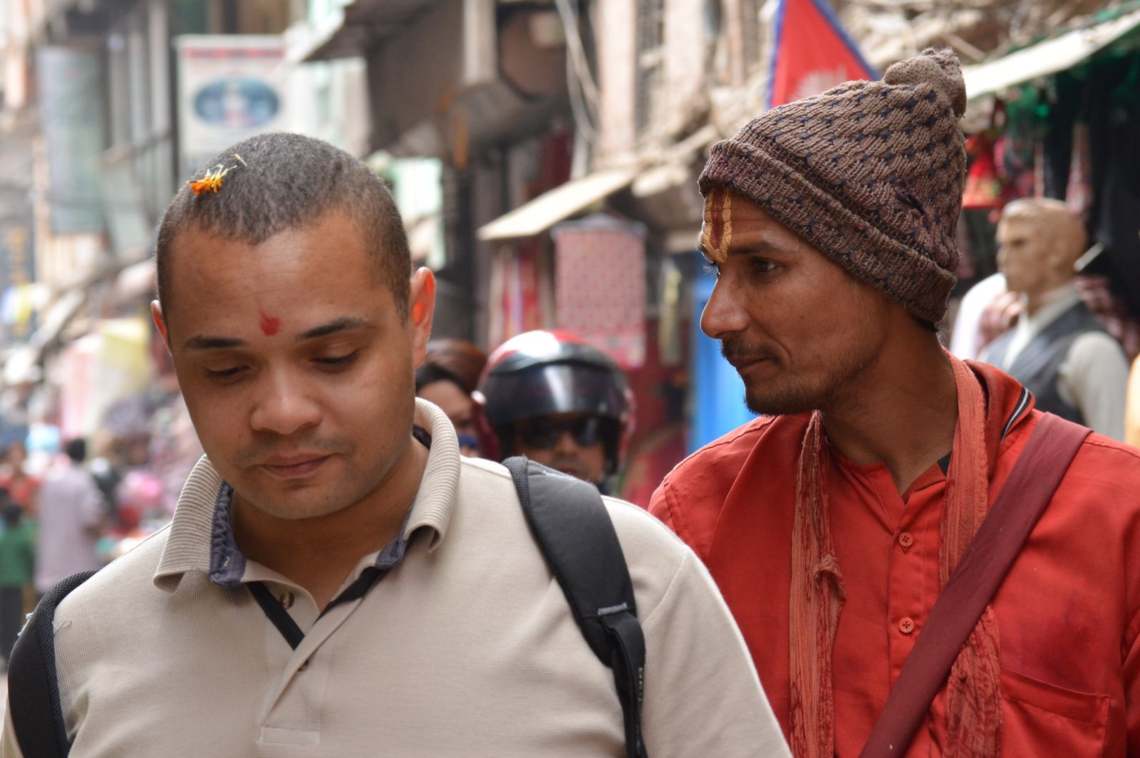 Premières impressions de Katmandou