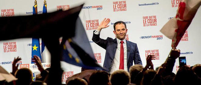 A Lille, le meeting no pasaran de Benoît Hamon