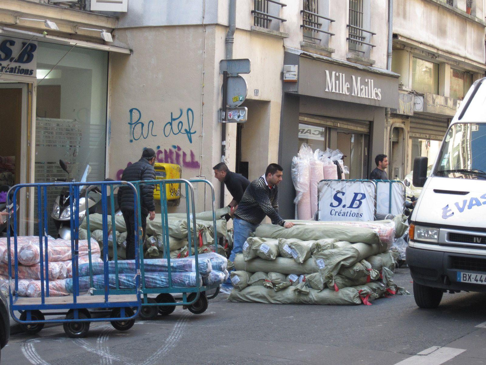 Deux quartiers parisiens le sentier et saint germain des pr s histoire de - Quartier du sentier paris ...