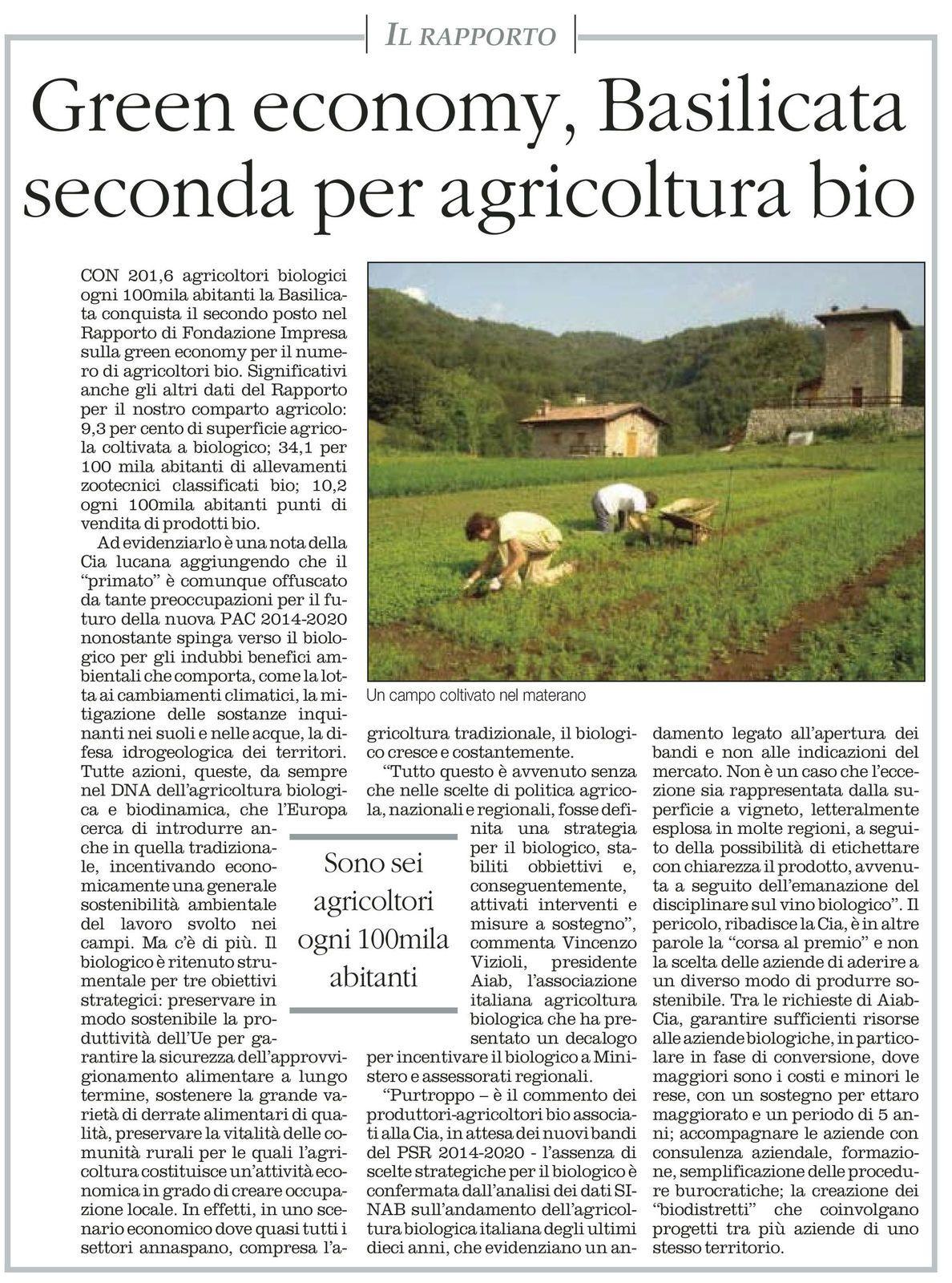 in allegato articolo pubblicato su il Quotidiano del SUD il 5 febbraio 2015