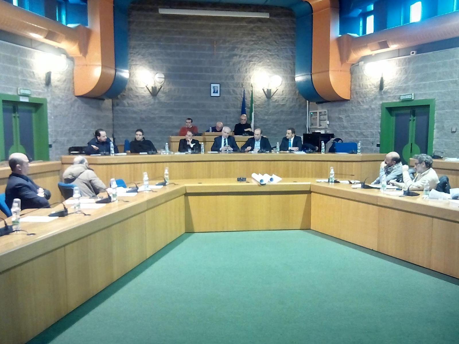 Conferenza dei Sindaci dell'Area programma Vulture – Alto Bradano per deliberare in merito ai progetti per la realizzazione di impianti di trattamento rifiuti previsti nell'area industriale di San Nicola di Melfi