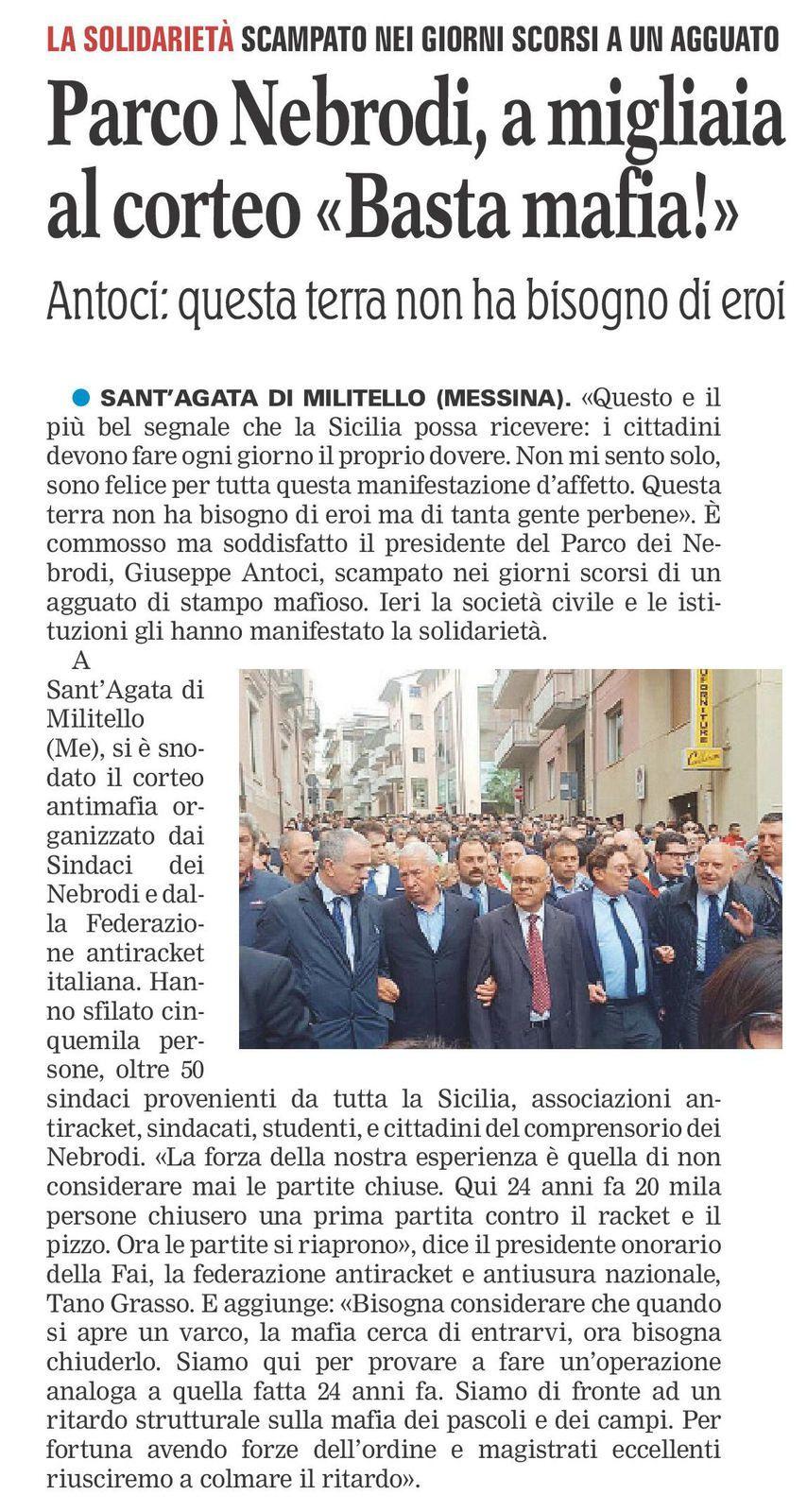 Gazzetta del Mezzogiorno - ed. 22 maggio 2016