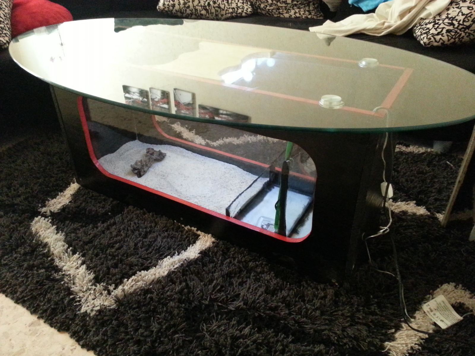aquarium table basse. Black Bedroom Furniture Sets. Home Design Ideas
