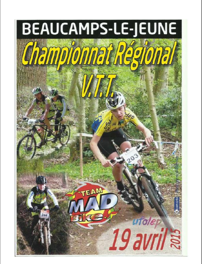 CHAMPIONNAT REGIONAL VTT