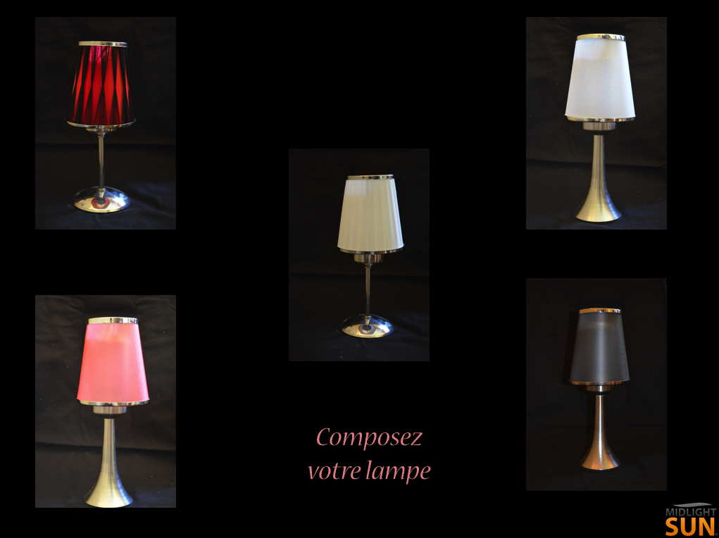 lampe sans fil avec abat jour lampes led sans fil rechargeables. Black Bedroom Furniture Sets. Home Design Ideas