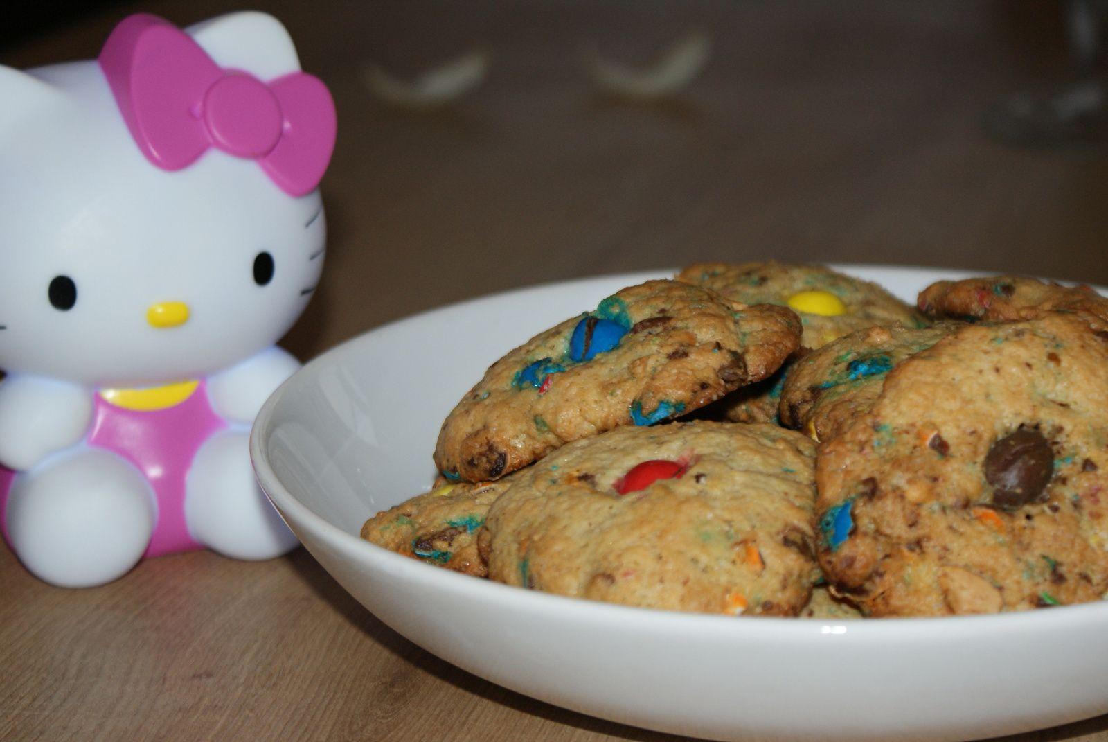 Cookies aux m&amp&#x3B;m's de Cloclo