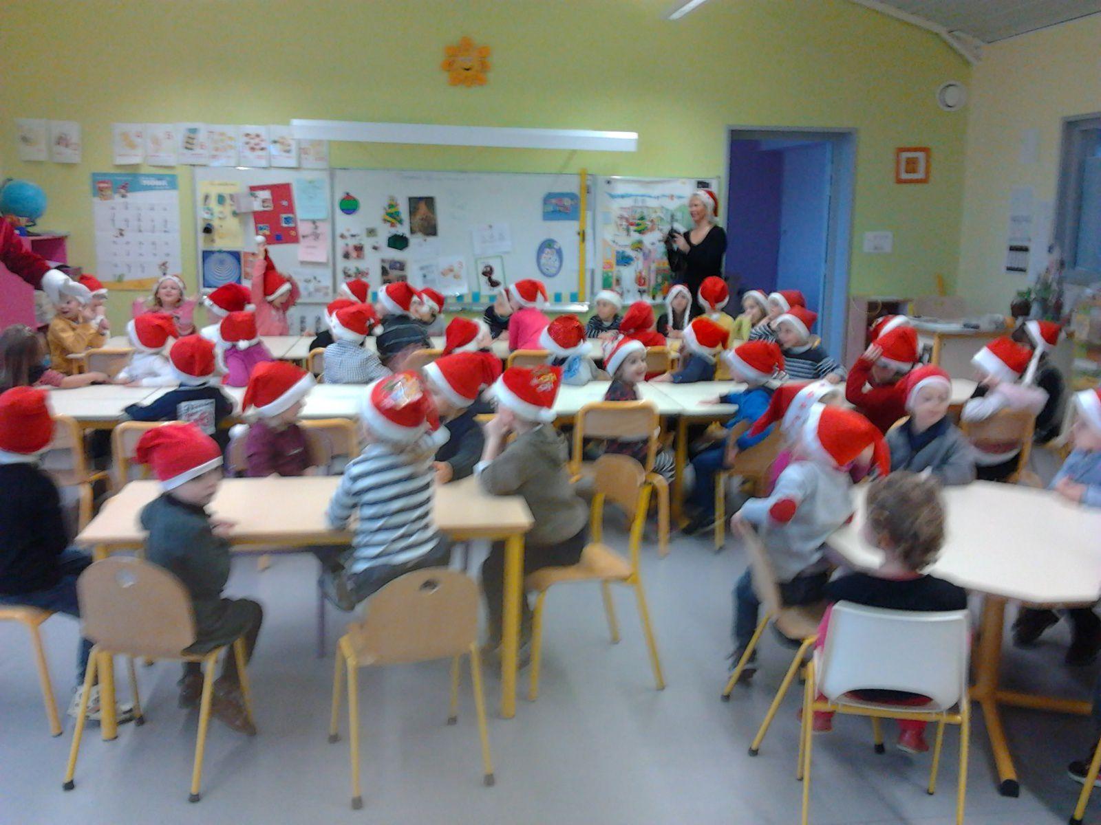 Le Père Noël , Ecole Léo Lagrange