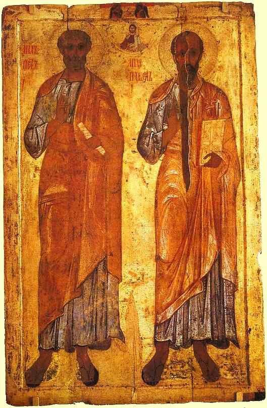 Avec Pierre et Paul, avançons sur le chemin de la foi.