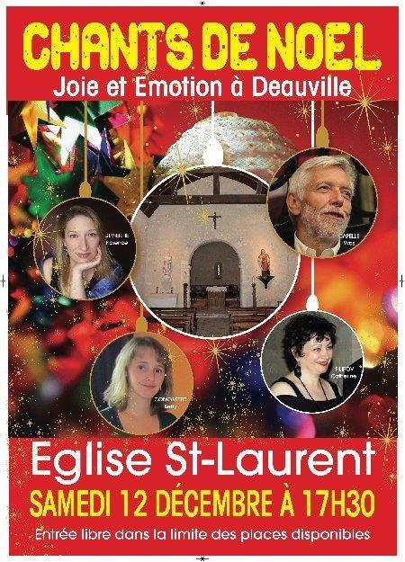 Concert de Noël à Saint Laurent.