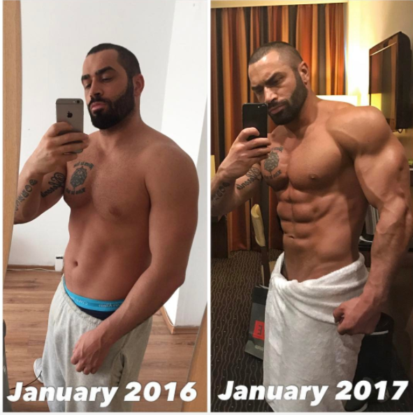 Lazar Angelov 2016-2017 Transformation