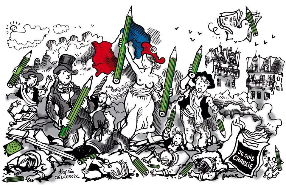 11/01/2015, des millions de Charlie dans la rue contre l'intégrisme !
