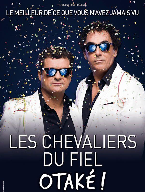 """Jeudi 7 Janvier 2016, sortie pour assister au spectacle """"Les CHEVALIERS du FIEL"""""""