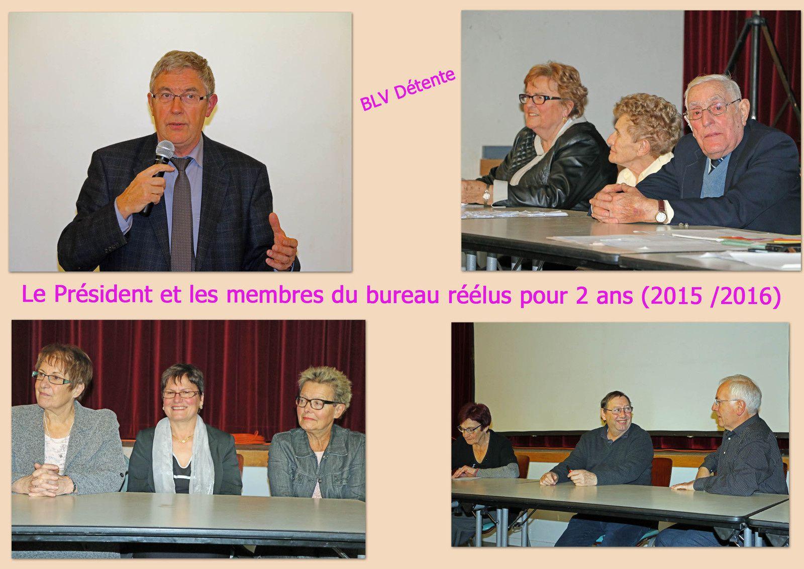 Samedi 6 Décembre 2014 : AG de l'association &quot&#x3B;BLV Détente&quot&#x3B;