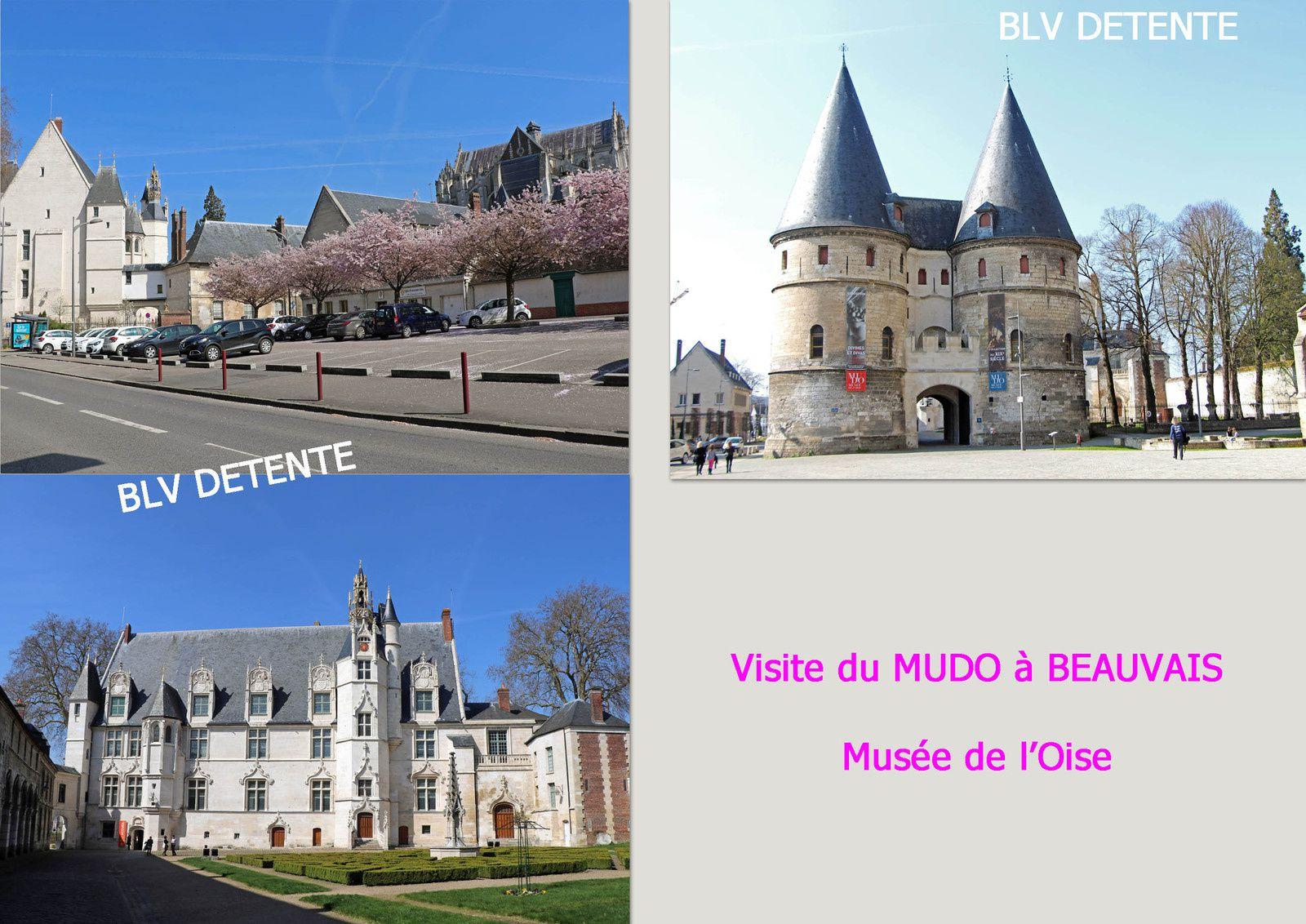 Visite guidée du MUDO : dans les différents salles du musée et de sa charpente du XVI ème siècle.