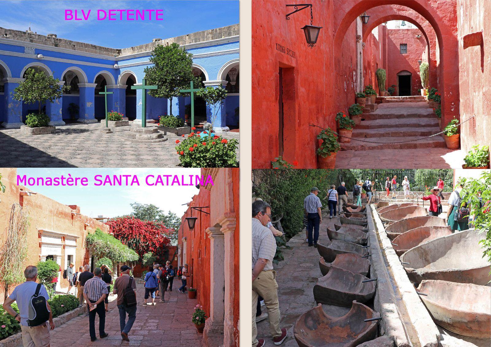 Jour 3 : Découverte du centre historique et des environs d'AREQUIPA