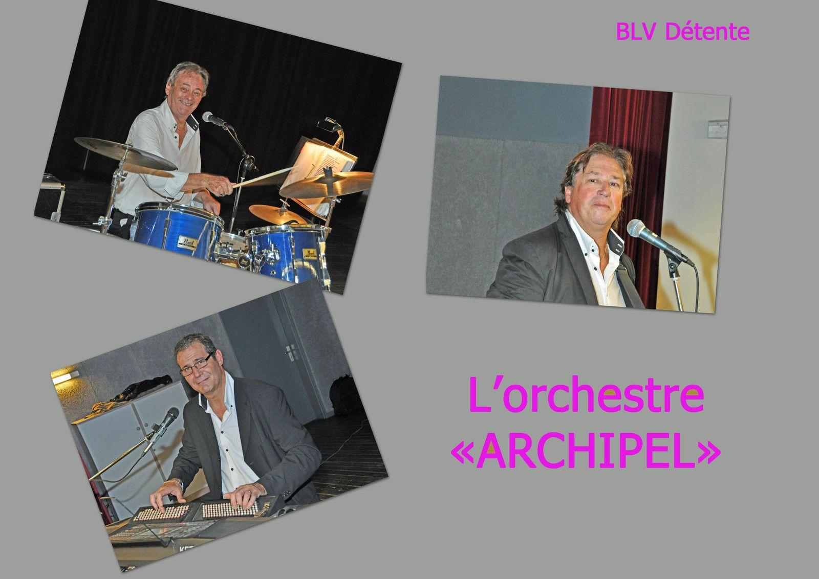 Dimanche 29 Octobre 2017 : REPAS DANSANT avec l'orchestre ARCHIPEL