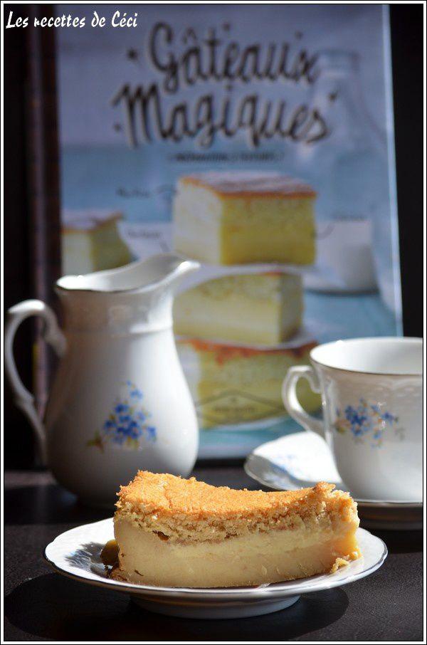Gâteau magique aux spéculoos
