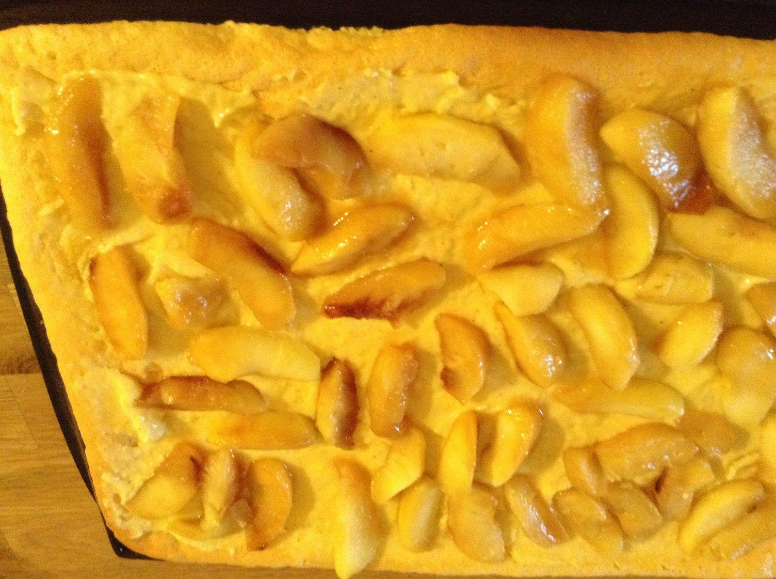 roulé aux pommes caramelisees