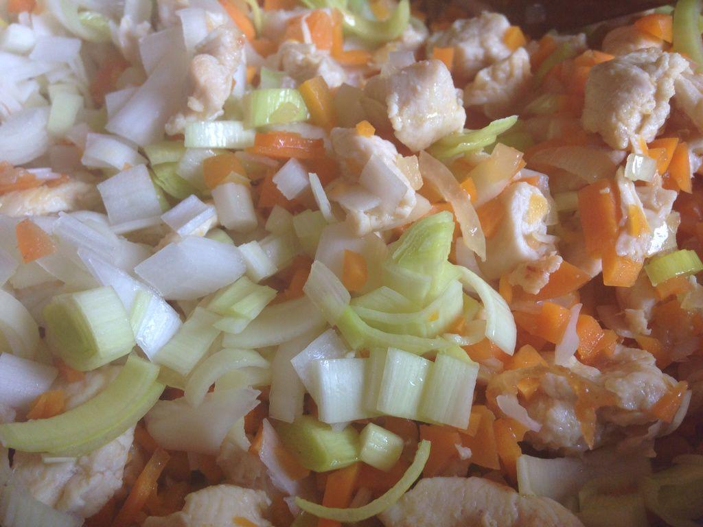 Crémeux cuisine curry (samoussas poulet au crémeux  curry et tartine)