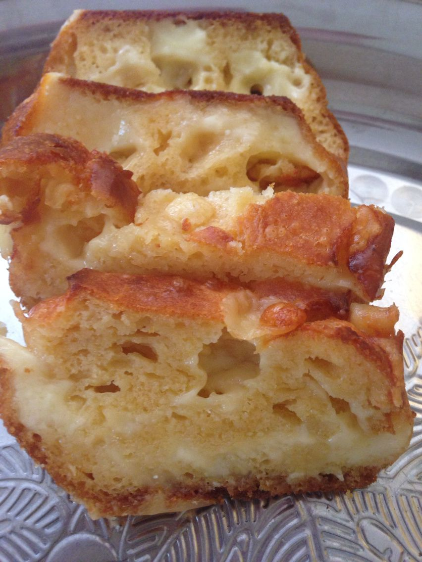 Cake aux trois fromage