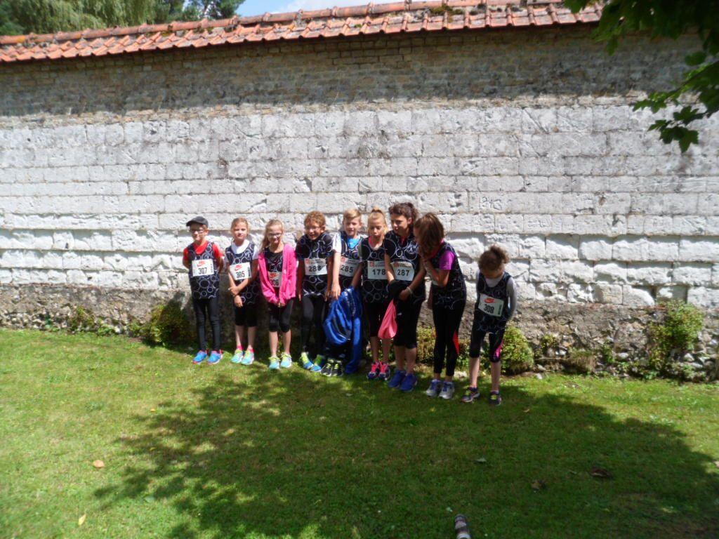 FOULEES VERTES DE VERTON 25/07/2015 : courses enfants