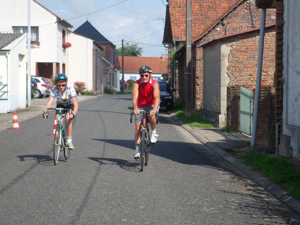 activités 2013 de la section vélo