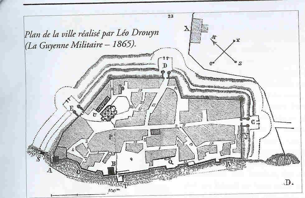 tête romaine et échoppe des marchands et des croquis de Léo Drouyn