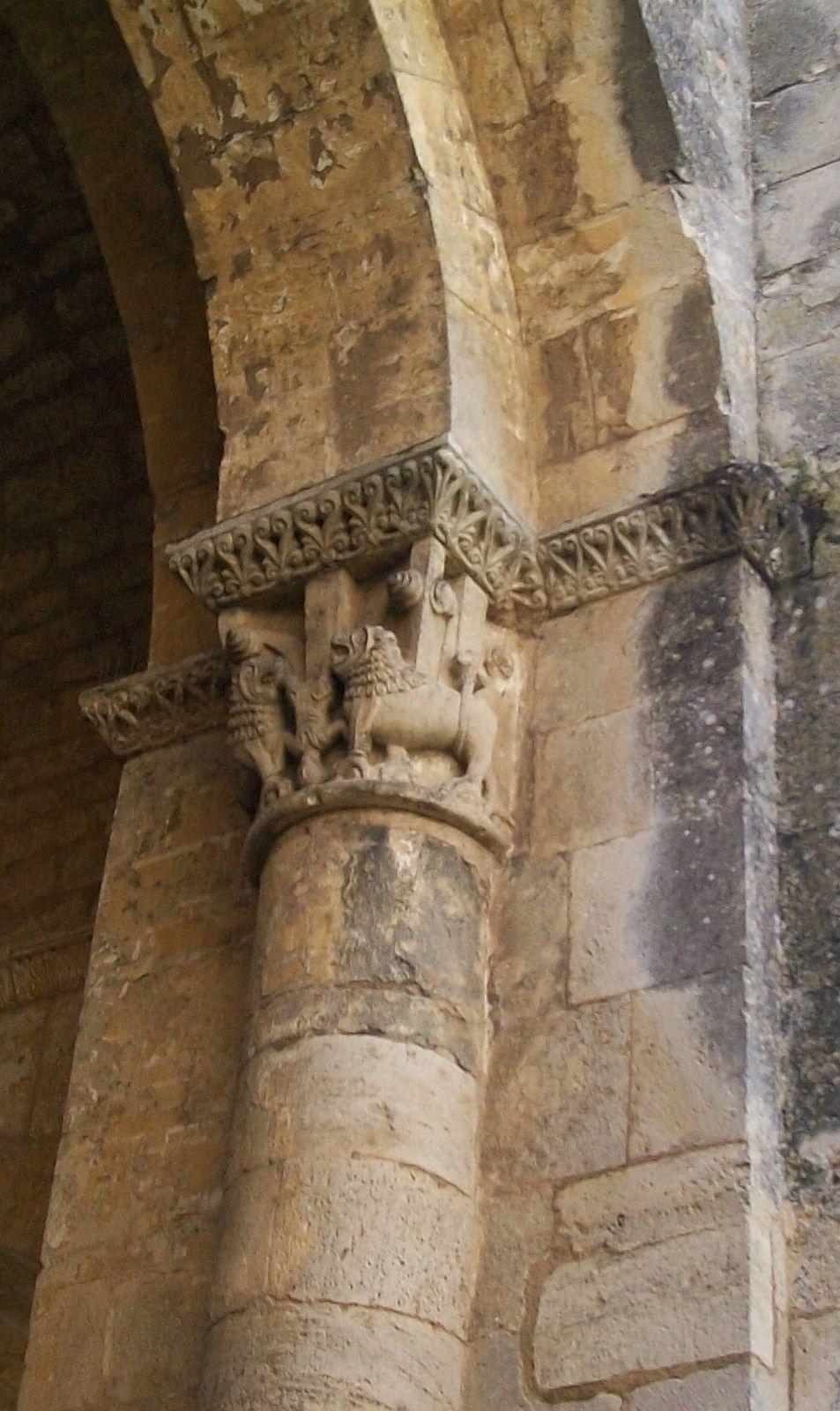 L'art roman à  L'abbaye de la Sauve Majeure et l'église,Samedi 13 juin 2015 , avec Connaissance du Médoc  de Courpiac