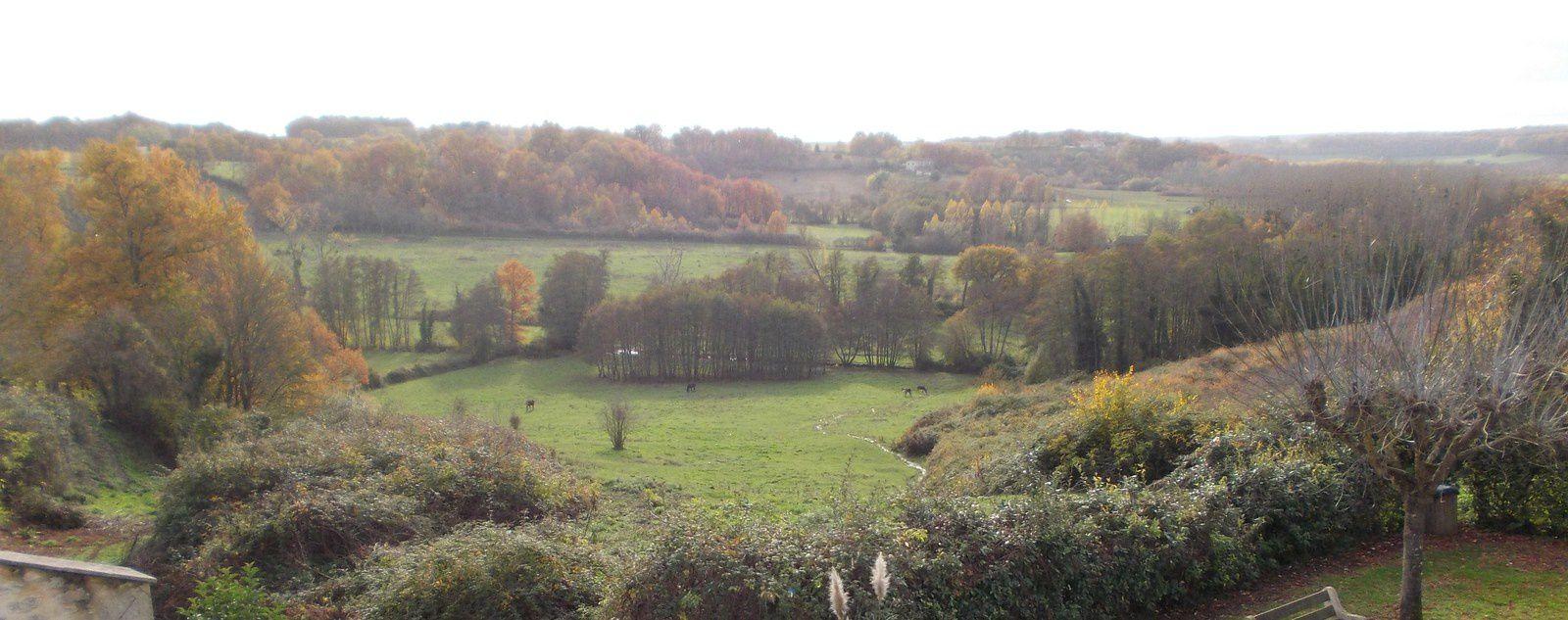 paysage depuis Ruch