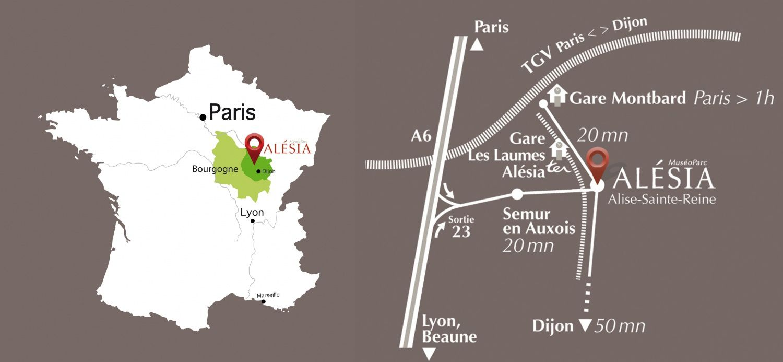 1 Route des Trois Ormeaux - 21150 Alise-Sainte-Reine - 03 80 96 96 23