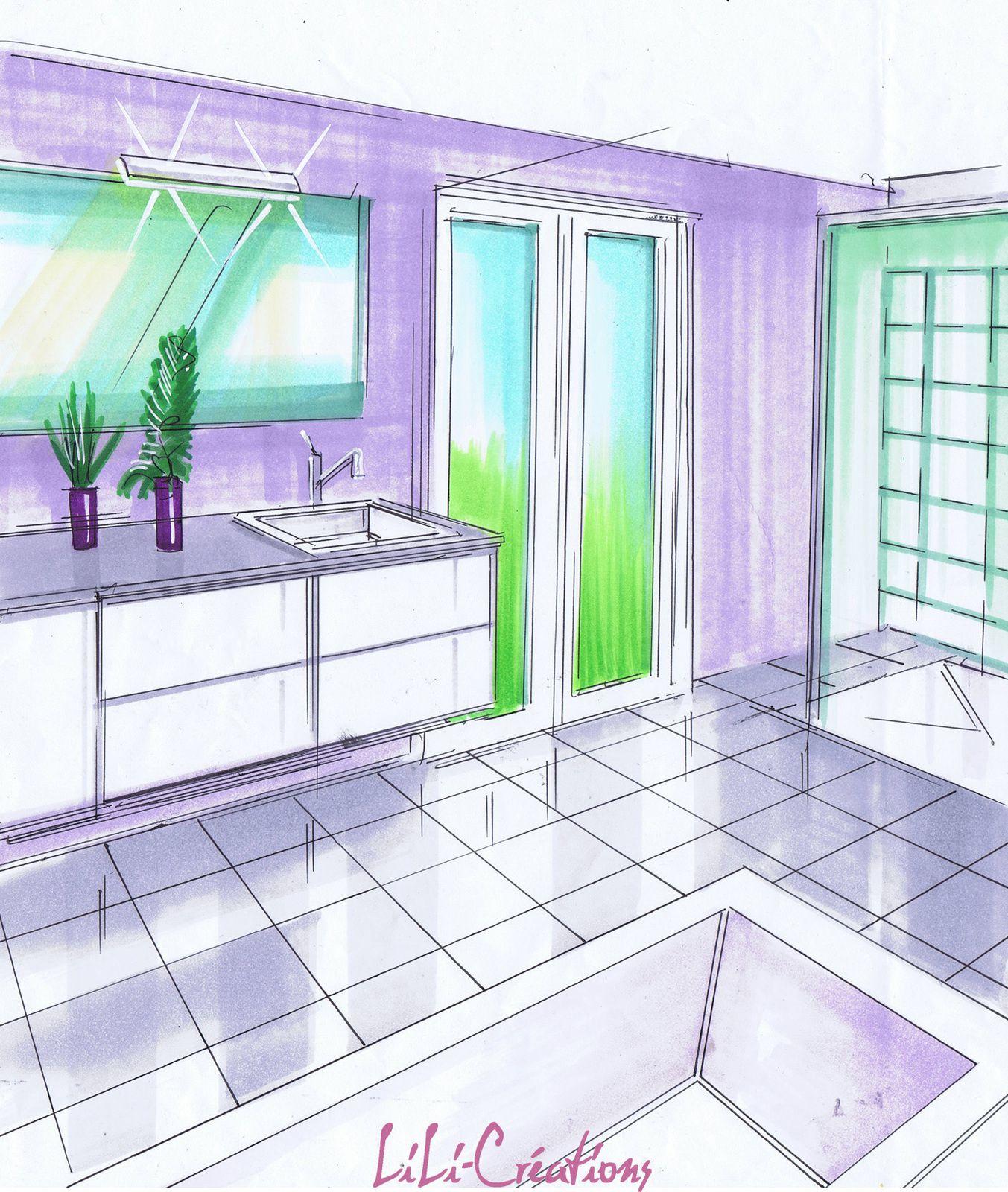 Grande salle de bains classique le blog de elise fossoux for Grande salle de bain