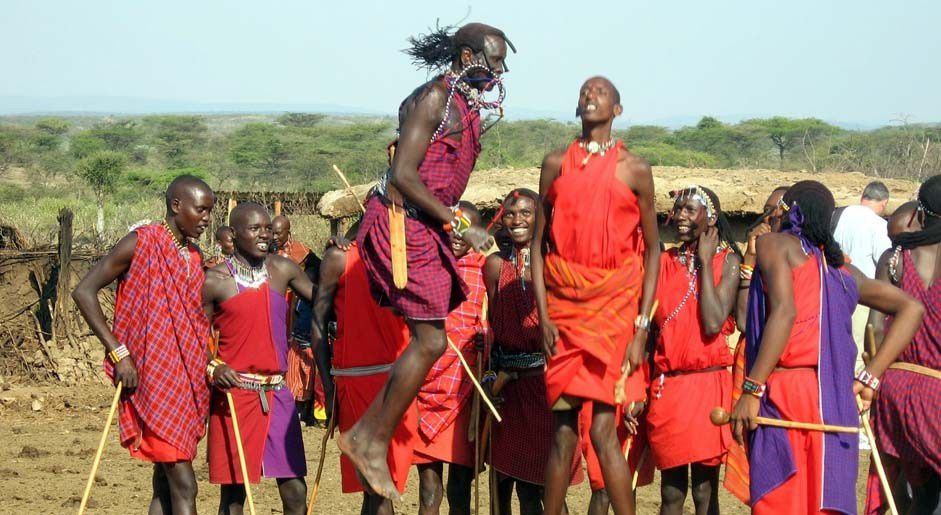 KENIA: &quot&#x3B;Juegos Olímpicos Masai&quot&#x3B; para salvar los últimos leones.