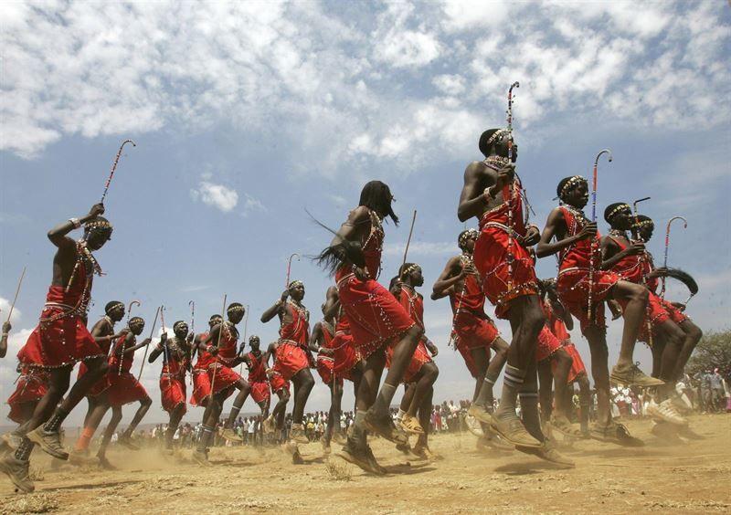 Los masai de Tanzania.- El Muni