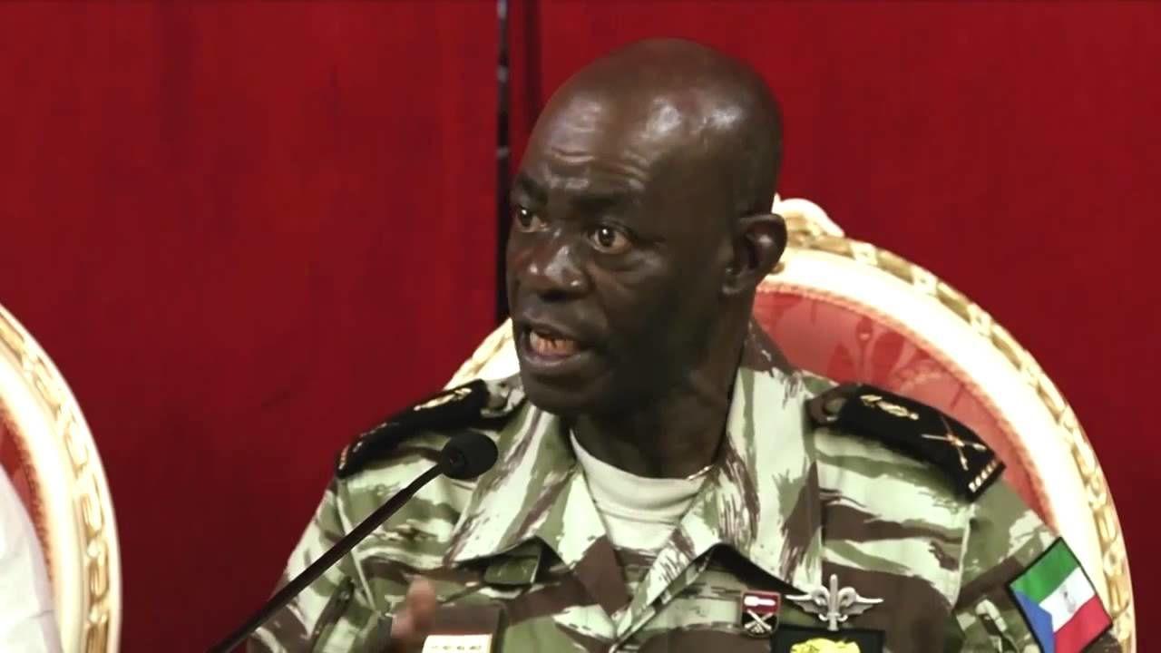 Así habla de los  ciudadanos el hombre encargado de velar por la  seguridad de todos los guineanos y guineanas de la Guinea Ecuatorial.