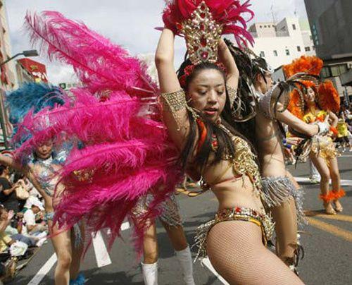 Carnaval y samba en Japón.- El Muni.
