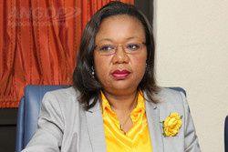 Julia Ferreira,  portavoz de la Comisión Electoral Nacional de Angola.- El Muni.