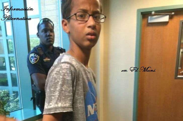 Detenido un chico musulmán por llevar a clase un reloj de fabricación casera.
