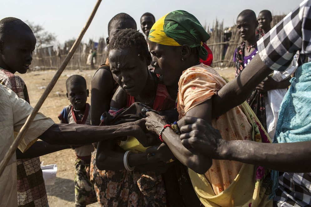 Imágenes de agresiones sexuales y violación de los derechos humanos en Sudán del Sur.- El Muni.