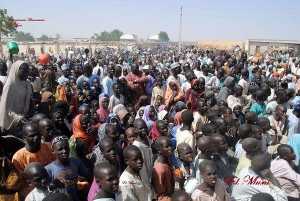 Liberados tres mil secuestrados del grupo terrorista Boko Haram en la cuanca del lago Tchad.